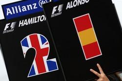 Lewis Hamilton, McLaren Mercedes, Fernando Alonso, McLaren Mercedes