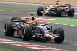 Mark Webber, Red Bull Racing, RB3, David Coulthard, Red Bull Racing, RB3