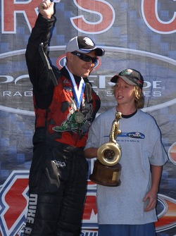 Funny Car winner Mike Ashley