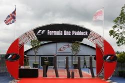 The Paddock entrance