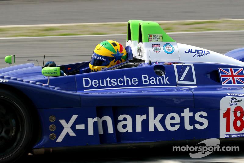 #18 Rollcentre Racing With Deutsche Bank X-markets Pescarolo - Judd: Joao Barbosa, Stuart Hall, Martin Short