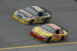 Jamie McMurray and Kevin Harvick