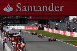Lewis Hamilton, McLaren Mercedes, Kimi Raikkonen, Scuderia Ferrari, Fernando Alonso, McLaren Mercedes