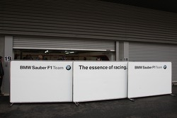 Closed garages, BMW Sauber F1 Team