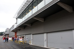 New pit buildings at the circuit