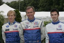 Allen Timpany, William Binnie and Chris Buncombe