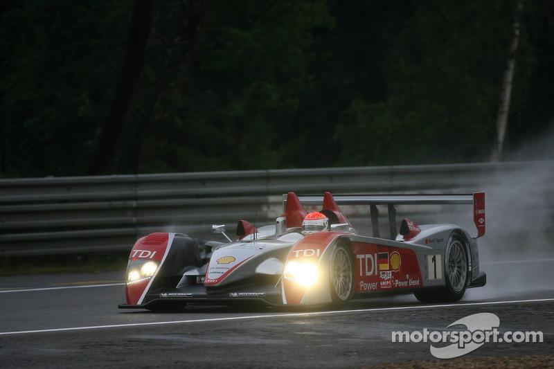 El R10 #1 de Marco Werner, Frank Biela y Emanuele Pirro en 2007