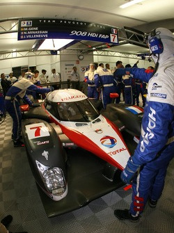 Retour de Marc Gene dans le garage