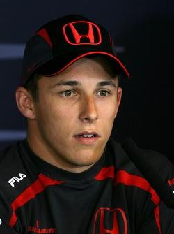 FIA press conference: Christian Klien, Test driver, Honda Racing F1 Team