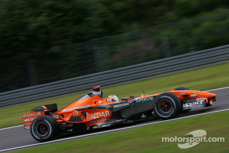 #20: Адріан Сутіль, Spyker F1 Team, F8-VII
