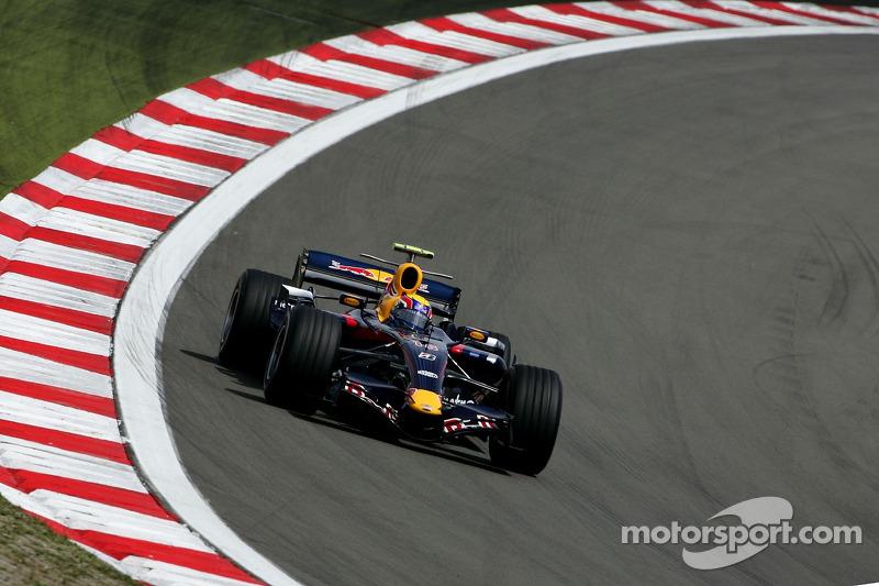 Nürburgring 2007: 1. Podestplatz als Red-Bull-Pilot