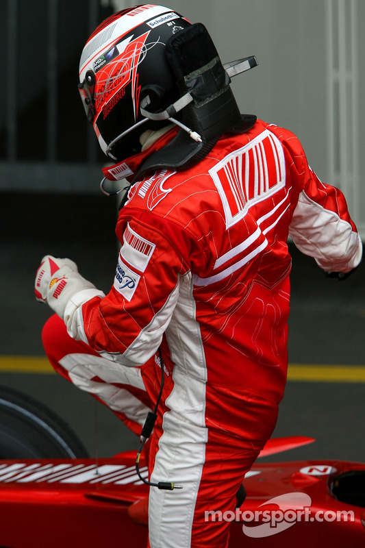 Кімі Райкконен, Scuderia Ferrari, F2007