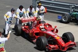 Ausfall: Kimi Raikkonen, Ferrari F2007