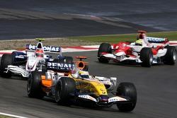 Giancarlo Fisichella, Renault F1 Team, Robert Kubica,  BMW Sauber F1 Team