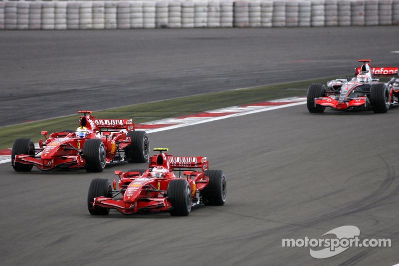 Кімі Райкконен, Феліпе Масса, Scuderia Ferrari, Фернандо Алонсо, McLaren Mercedes