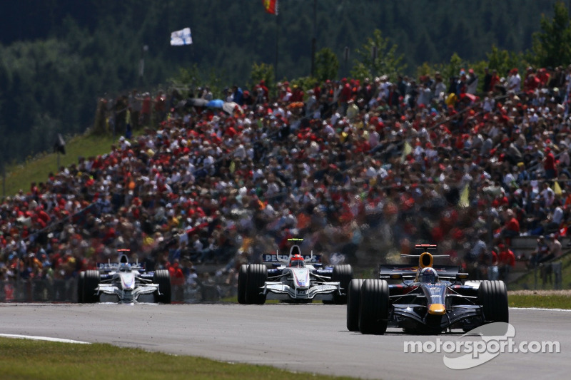 David Coulthard, Red Bull Racing, Robert Kubica, BMW Sauber F1 Team