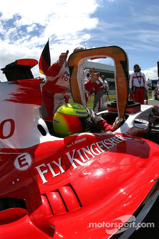 Ральф Шумахер, Toyota Racing