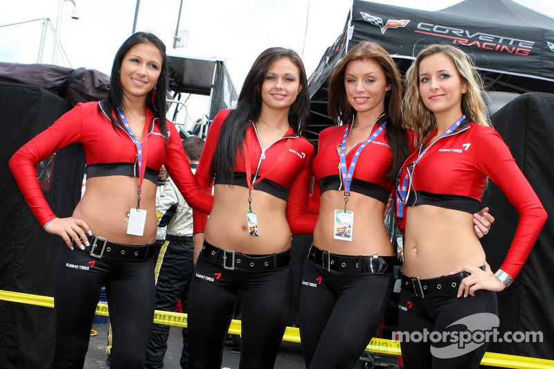 The Charming Kumho Tires Girls At Mid Ohio