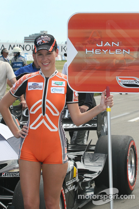 the grid girl of jan heylen at
