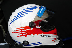 Helmet of Chris Dyson
