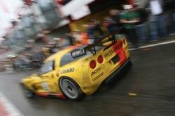 Last pitstop for #5 Carsport Holland Corvette C6R: Jean-Denis Deletraz, Mike Hezemans, Fabrizio Gollin, Marcel Fassler