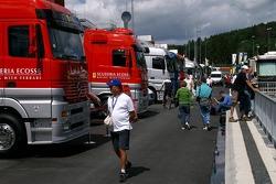 New F1 paddocks