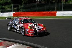 #60 Prospeed Competition Porsche 997 GT3 RSR: Rudi Penders, Franz Lamot, Bart Couwberghs, François Duval