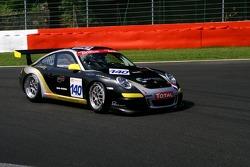 #140 Emeraude Racing rms Porsche 997 GT3 Cup: Olivier Baron, Laurent Pasquali, Andre Alain Corbel, Knapick