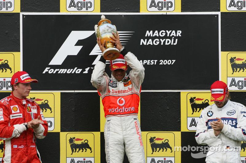 10- Gran Premio de Hungría 2007 (1º), McLaren