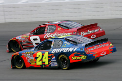 Jeff Gordon et Dale Earnhardt Jr.