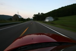 Cruising out of Watkins Glen