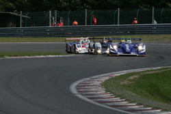 Lap one in Les Combes: #18 Rollcentre Racing With Deutsche Bank Pescarolo – Judd: Joao Barbosa, Stuart Hall, Martin Short