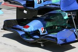 Honda Racing F1 Team, front wing detail