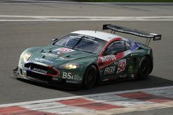 Eau Rouge: #50 Amr Larbre Competition Aston Martin DBR9: Christophe Bouchut, Gabriel Gardel, Fabrizio Gollin