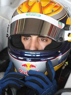 Sebastien Buemi, driver of A1 Team Switzerland