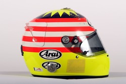 Alex Yoong, driver of A1 Team Malaysia, Helmet