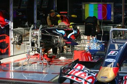 Scuderia Toro Rosso, STR02, detail