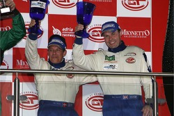 GT1 podium: Citation Cup winners Alain Ferté and Ben Aucott