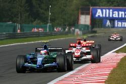 Rubens Barrichello, Honda Racing F1 Team, RA107, Takuma Sato, Super Aguri F1, SA07