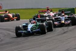 Rubens Barrichello, Honda Racing F1 Team, Sebastian Vettel, Scuderia Toro Rosso, Takuma Sato, Super Aguri F1 Team