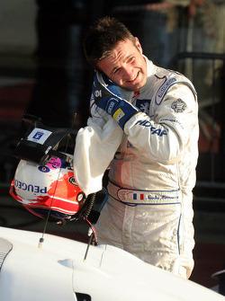 Race winner Nicolas Minassian