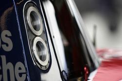 Detail of the Red Bull/ Brumos Porsche Porsche Riley