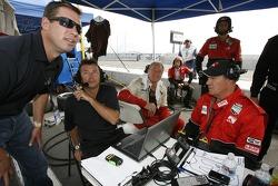 Greg Wilkins with Doncaster Racing team members