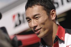 F1 driver Takuma Sato
