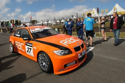 Colin Turkington, Team RAC, BMW 320si WTCC sur la grille