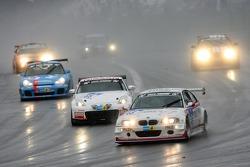 Start: #49 Duller Motorsport BMW M3 E46: Luca Cappellari, Fabrizio Gollin, Andrea Bellicchi, Edi Orioli