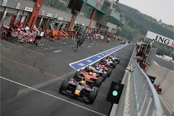 Adrian Zaugg, Arden International in the pits