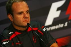 FIA press conference: Rubens Barrichello, Honda Racing F1 Team