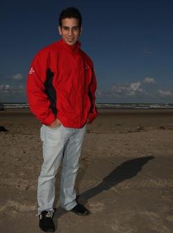 Blokarting: Chris Alajajian, driver of A1 Team Lebanon