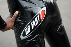 Go Fast Grid Girl